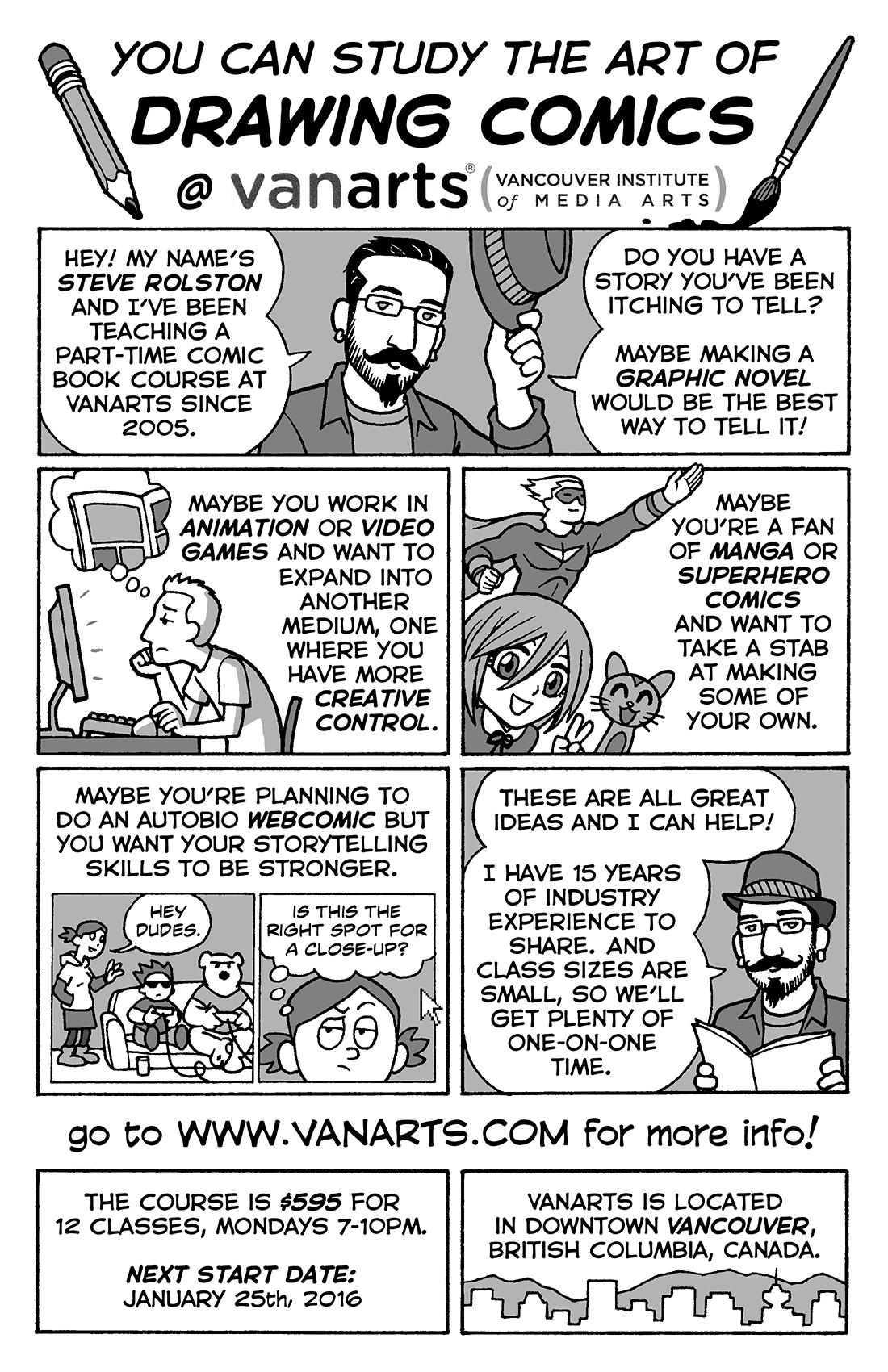 Vanarts Drawing Comics